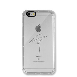 Sungjae Sign (iPhone 6/6s Transparent Bumper Case)