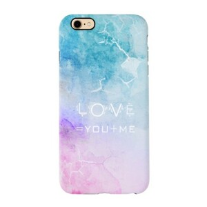 Water Color iPhone 7 TPU Dual Layer Protective Case