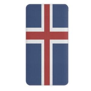 冰島 10000mAh Imitation Leather Power Bank
