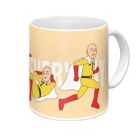 One punch man trainning Mug