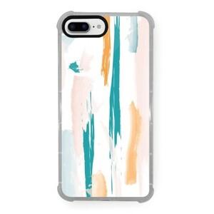 Spring Dash iPhone 8 Plus Transparent Bumper Case