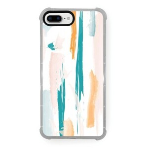 Spring Dash iPhone 8 Plus Transparent Bumper Case