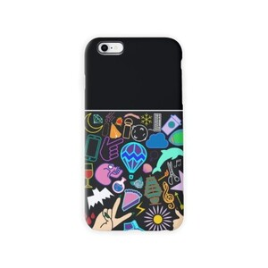 Random Print iPhone 8 TPU Dual Layer Protective Case