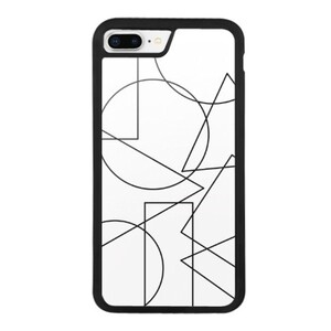 Shapes iPhone 8 Plus Bumper Case