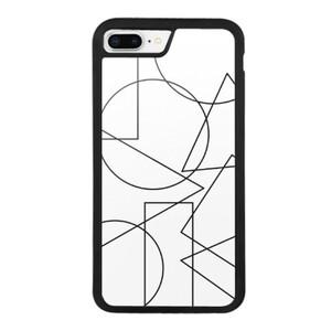 Shapes iPhone 8 Plus Bumper Case