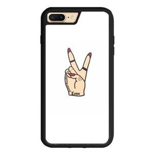 Tattooed Hand iPhone 8 Plus TPU Dual Layer  Bumper Case