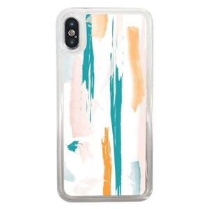 Spring Dash iPhone X Liquid Glitter Case