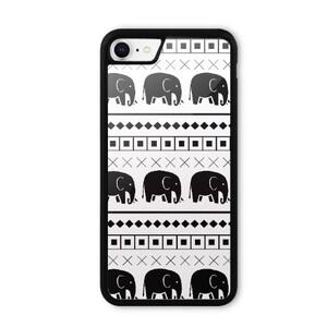 Elephant Tribal Print iPhone 8 Bumper Case
