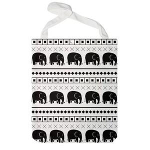 Elephant Tribal Print Jumbo Tote Bag