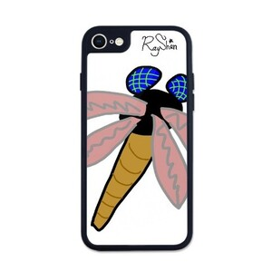 iPhone 7 Transparent Slim Case 蜻蜓手機殼