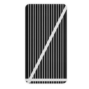 B&W Stripes 10000mAh Imitation Leather Power Bank