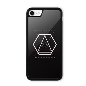 Geometric Designs iPhone 8 Bumper Case
