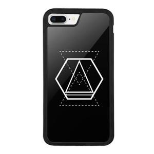 Geometric Designs iPhone 8 Plus Bumper Case