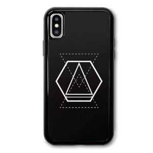 Geometric Designs iPhone X TPU Dual Layer  Bumper Case