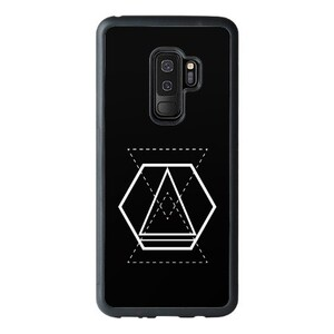 Geometric Designs Samsung Galaxy S9 Bumper Case