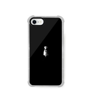 iPhone 8 Transparent Bumper Case---bird