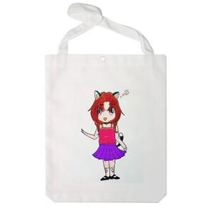 Jumbo Tote Bag-meow meow