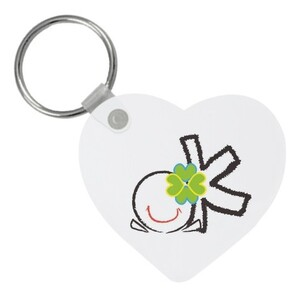Heart Shaped Keychain