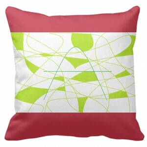 """The letter A Pillow 16""""x16"""""""