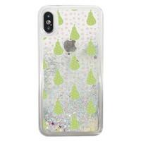 iPhone X Liquid Glitter Case