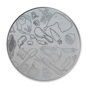 Round Metallic Tin