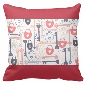 Rectangle Framed Throw Pillow 16