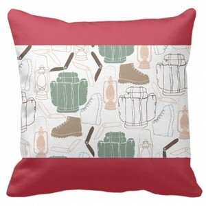 "Rectangle Framed Throw Pillow 16""x16"""