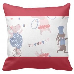 Rectangle Framed Throw Pillow 16