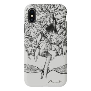 Fashion Birds_iPhone X TPU Dual Layer Protective Case