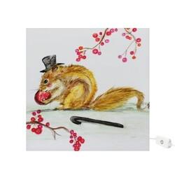Greedy squirrel 貪吃的松鼠