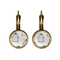 Retro Style Earrings