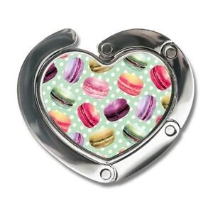 Heart-shaped Fordable Bag Hook