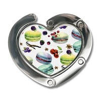 Heart-shaped Fordable Bag Hook
