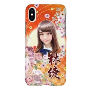 林倢特製燦爛花彩款 iPhone X Glossy Case