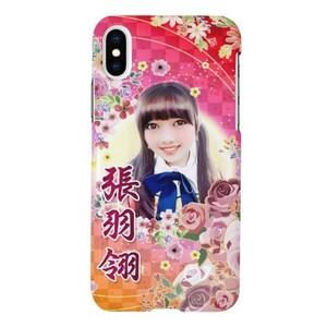 羽翎特製青春花漾款 iPhone X Glossy Case