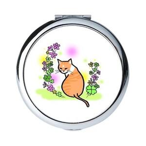 貓咪&花物語_幸運草