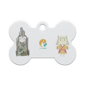 Bone Shaped Pet Tag