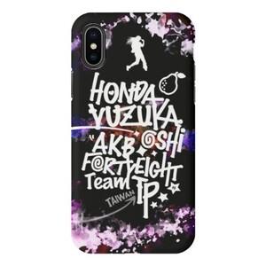 本田柚萱酷黑舞者款 iPhone X TPU Dual Layer Protective Case