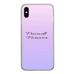 iPhone Xs Tempered Glass Transparent Case