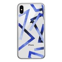iPhone Xs Max 鋼化玻璃透明殼