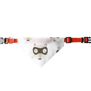 三角寵物頭圍巾 (大)