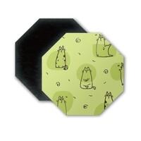 八角形磁石貼