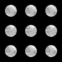 圓形圖釘 (小)