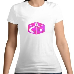 AMS Magic Box - Women 's Cotton Round Neck T - shirt