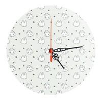 玻璃圓形掛牆鐘