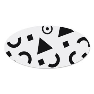 橢圓形名字牌