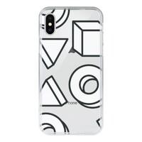 iPhone X 鋼化玻璃透明殼
