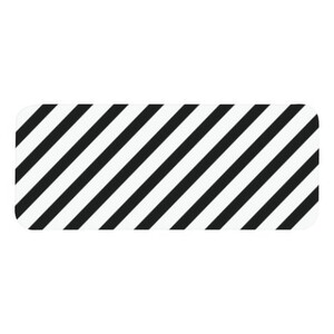 長方形名字牌 (小)
