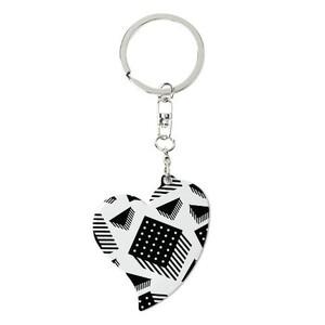金屬心形匙扣