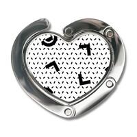 心型便攜式掛鉤